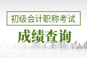 2020年安徽初级会计资格考试成绩查询时间